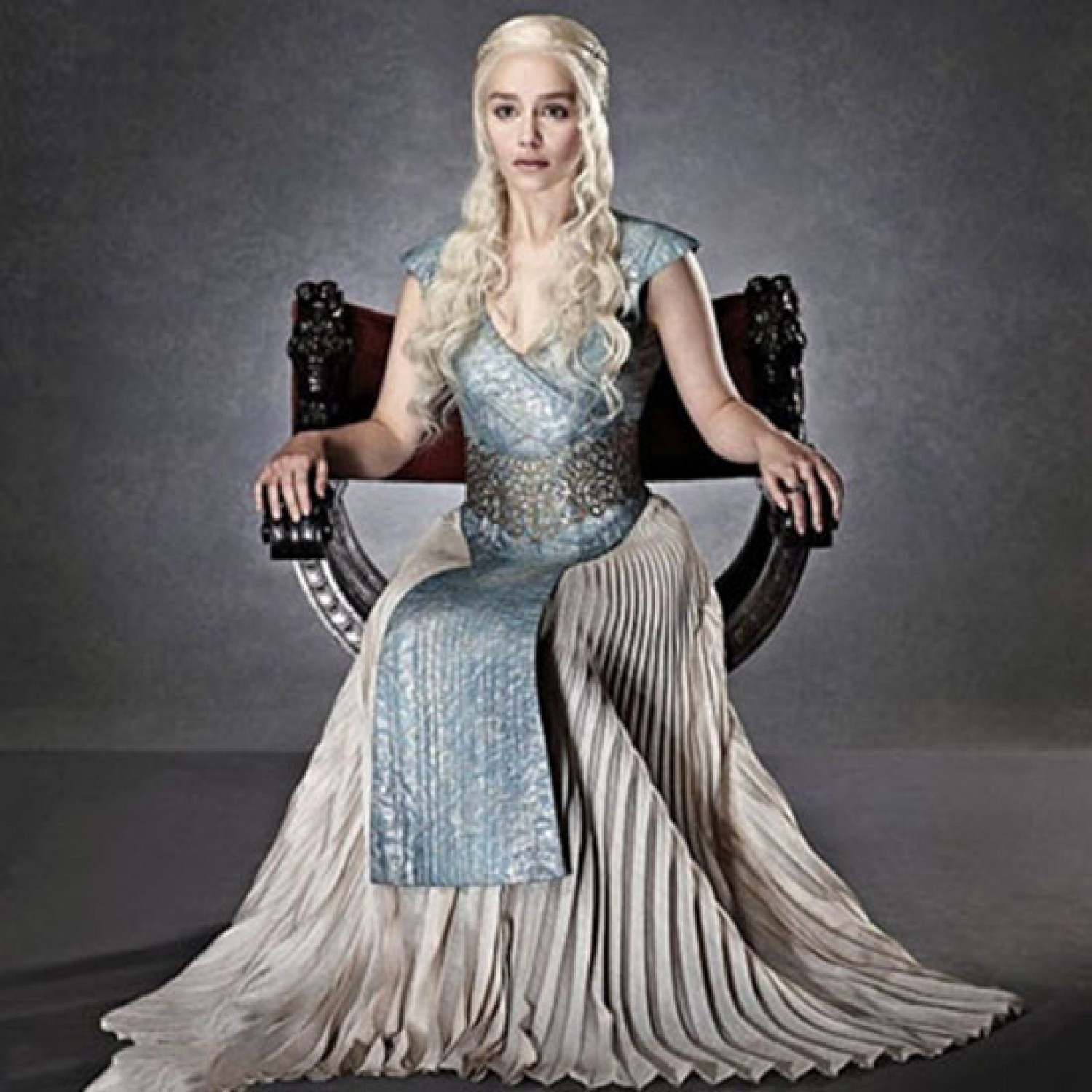 Game Of Thrones Daenerys Targaryen Evening Dresses Halloween Cosplay Costume