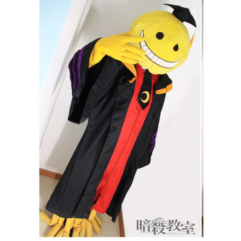 Assassination Classroom Korosensei Cosplay Costume and Accessories