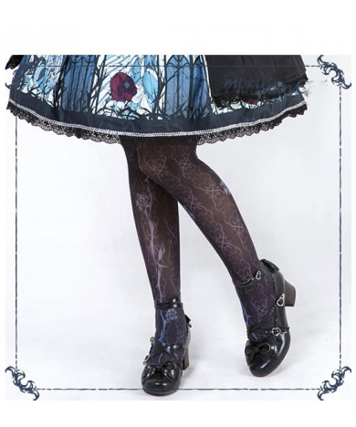 Beauty the Rose Lolita Dress Socks