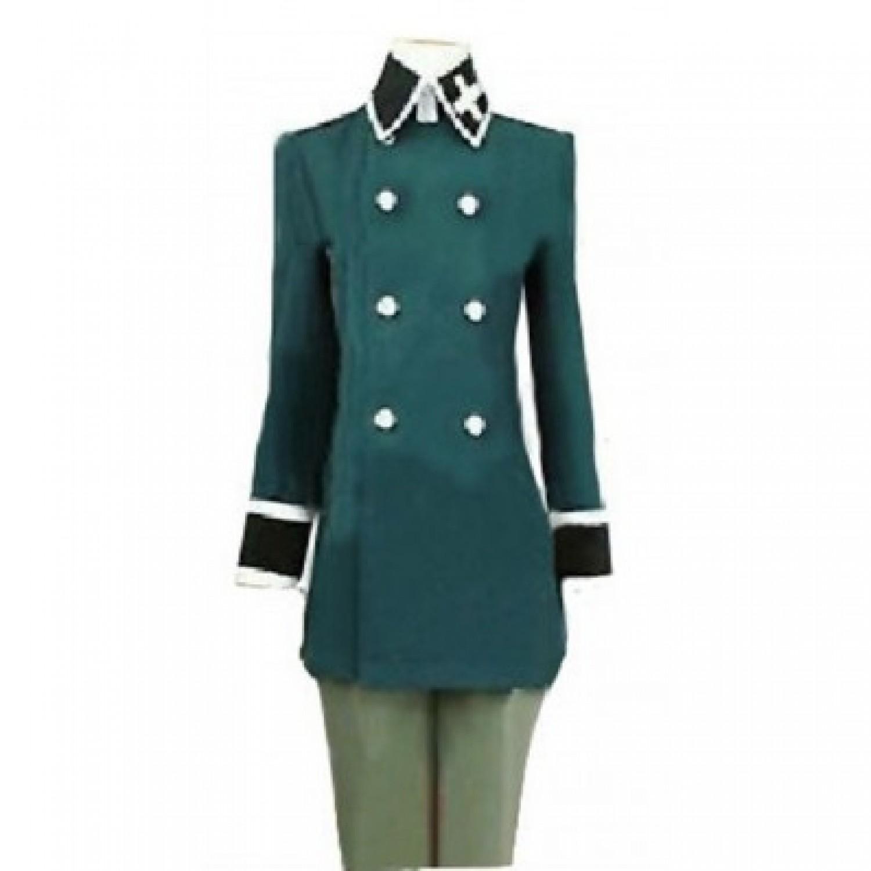 Axis Powers Hetalia Switzerland Basch Zwingli Cosplay Costume