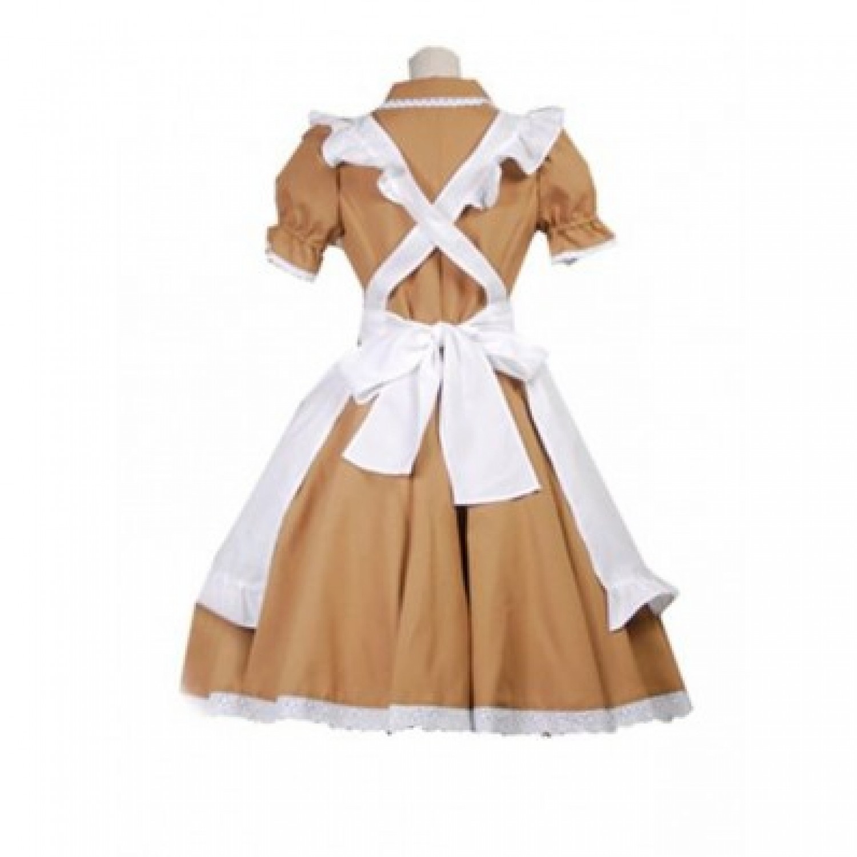 Axis Power Hetalia Italy Maid Uniform Anime Cosplay Costume