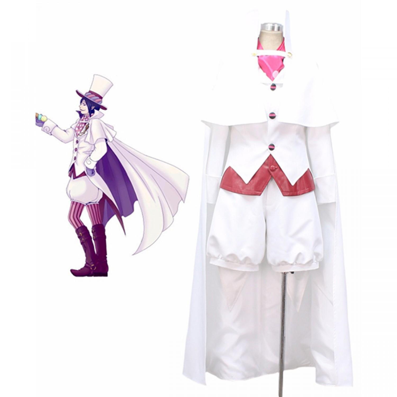 Ao no Exorcist Blue Exorcist Mephisto Pheles White Cosplay Costume