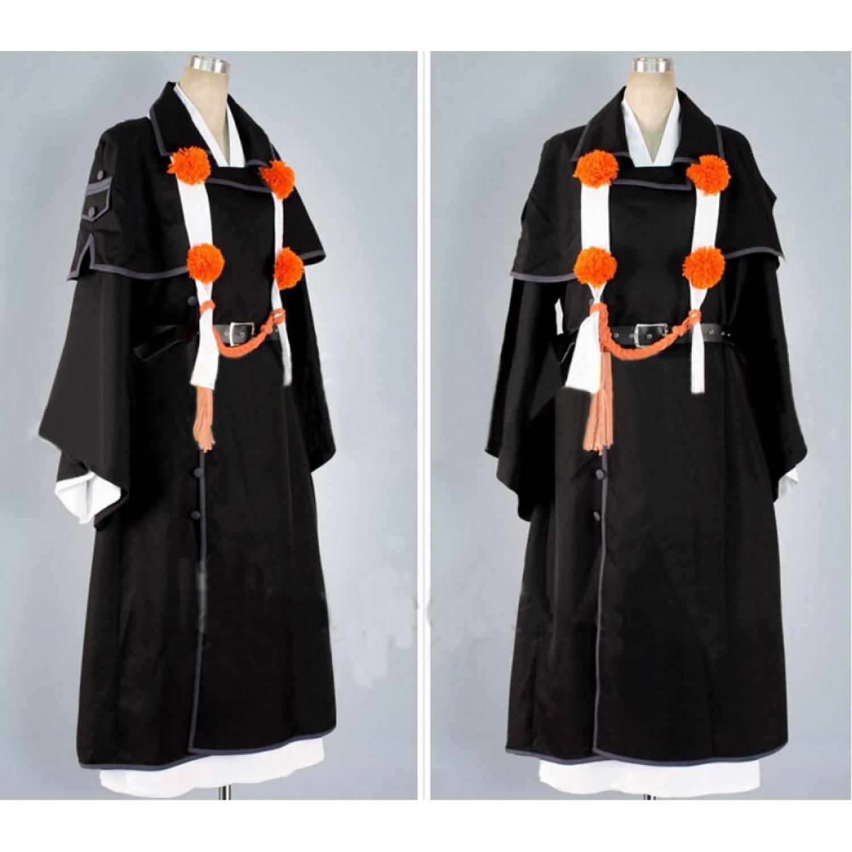 Ao no Exorcist Shima Renzo Cosplay Costume