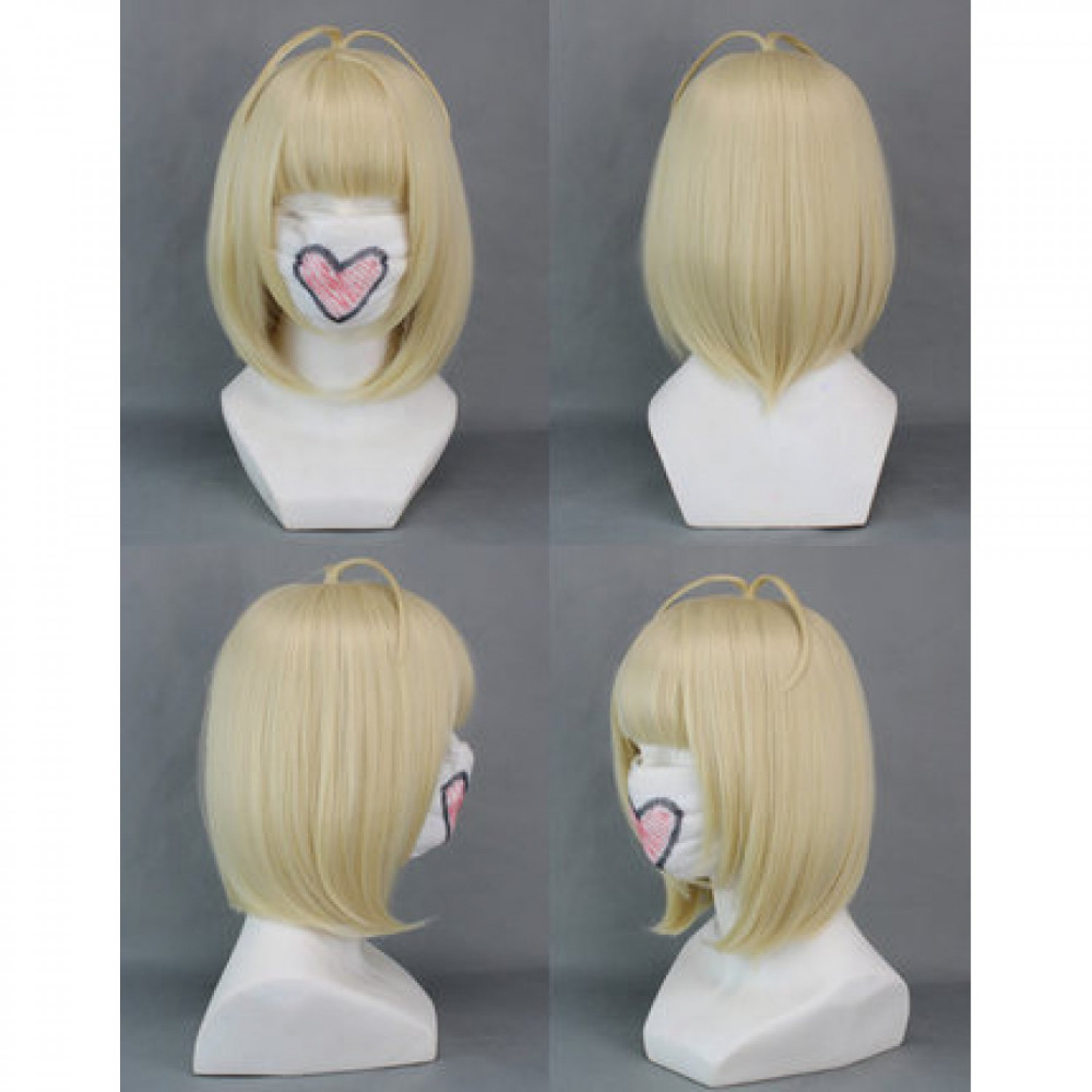 Ao no Exorcist Blue Exorcist Moriyama Shiemi Short Blonde Cosplay Wig