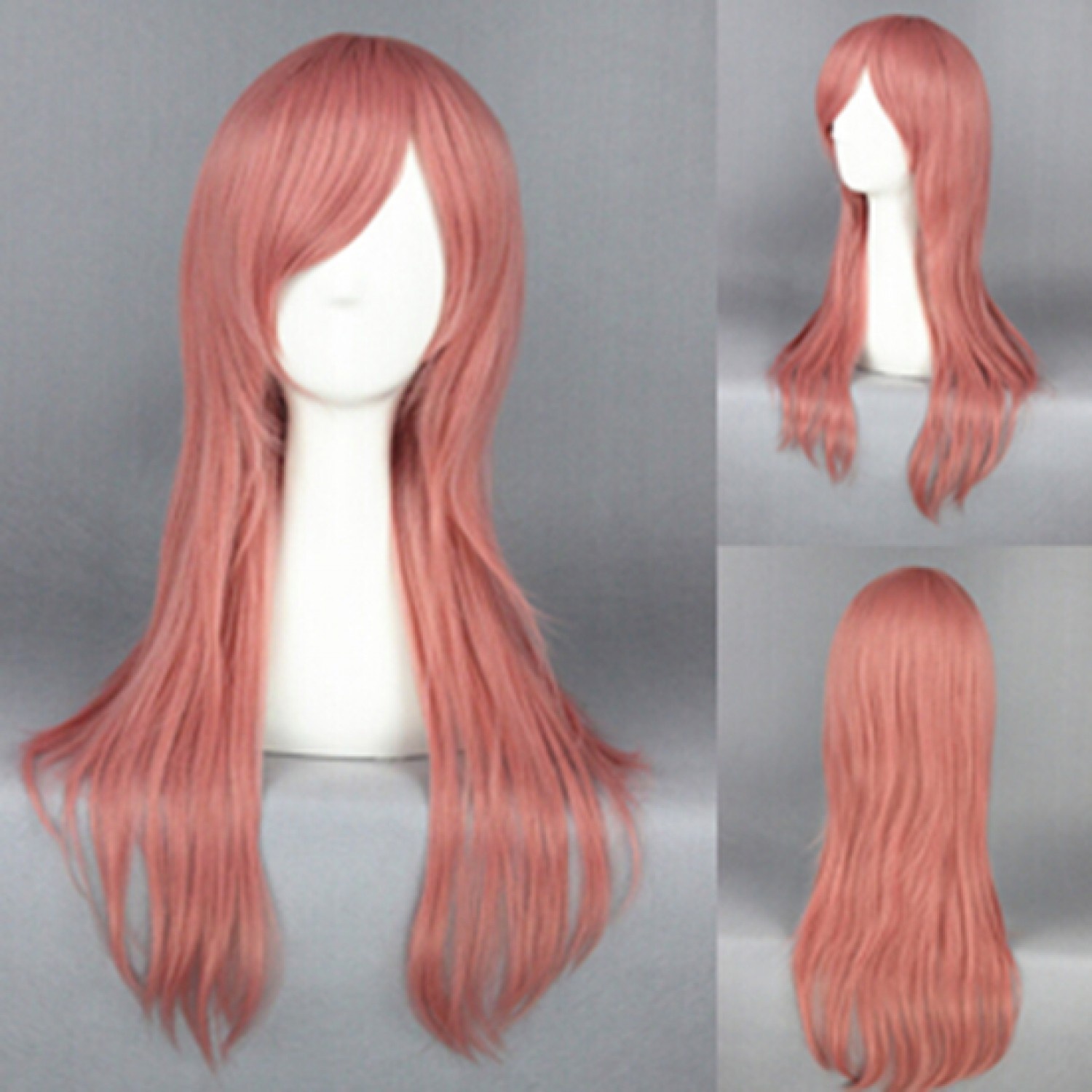 Arakawa Under the Bridge Maria Pink Cosplay Wig