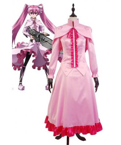 Akame Ga KILL! Night Raid Sniper Mine Gown Anime Dress Cosplay Costume