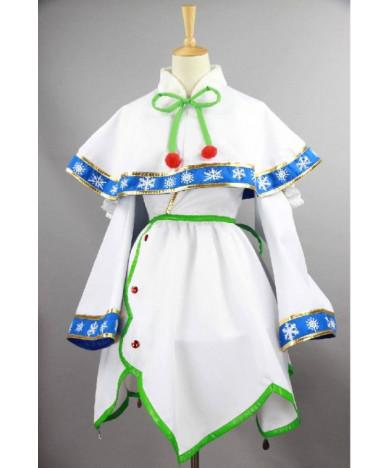 Vocaloid 2015 Snow Miku Japan Anime Cosplay Costume