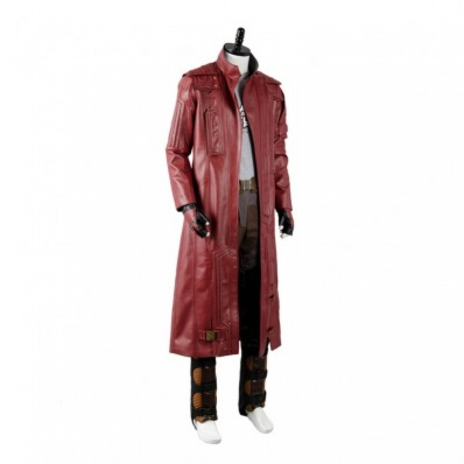 Guardians of the Galaxy Lord Chris Prat PU Cosplay Costumes