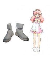 AKB0048 Aida Orine PU Flat Cosplay Shoes