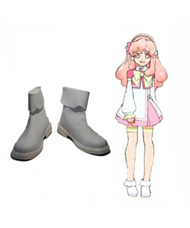 AKB0048 Aida Orine PU Flat Cosplay Shoes