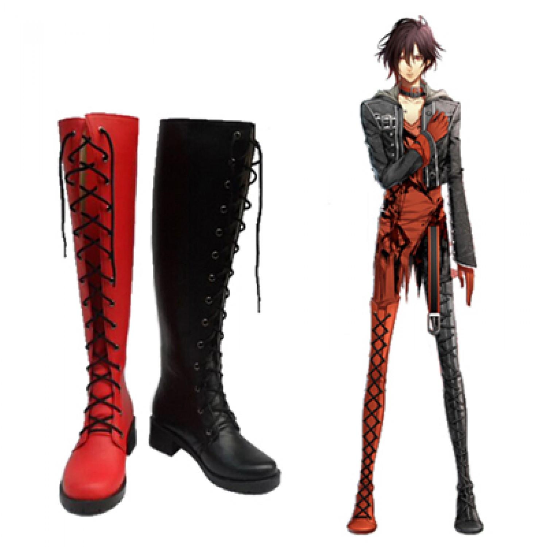 Amnesia the Dark Shin PU Cosplay Boots Cosplay Shoes