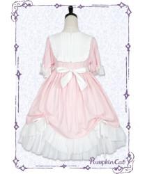 Sweet Lolita Little girl in Summer Lolita Dress