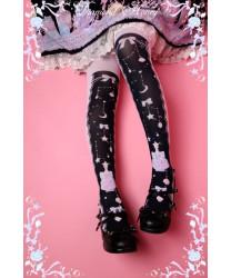 Dream Lolita Mermaid Shell Socks Thigh High Socks 55 cm