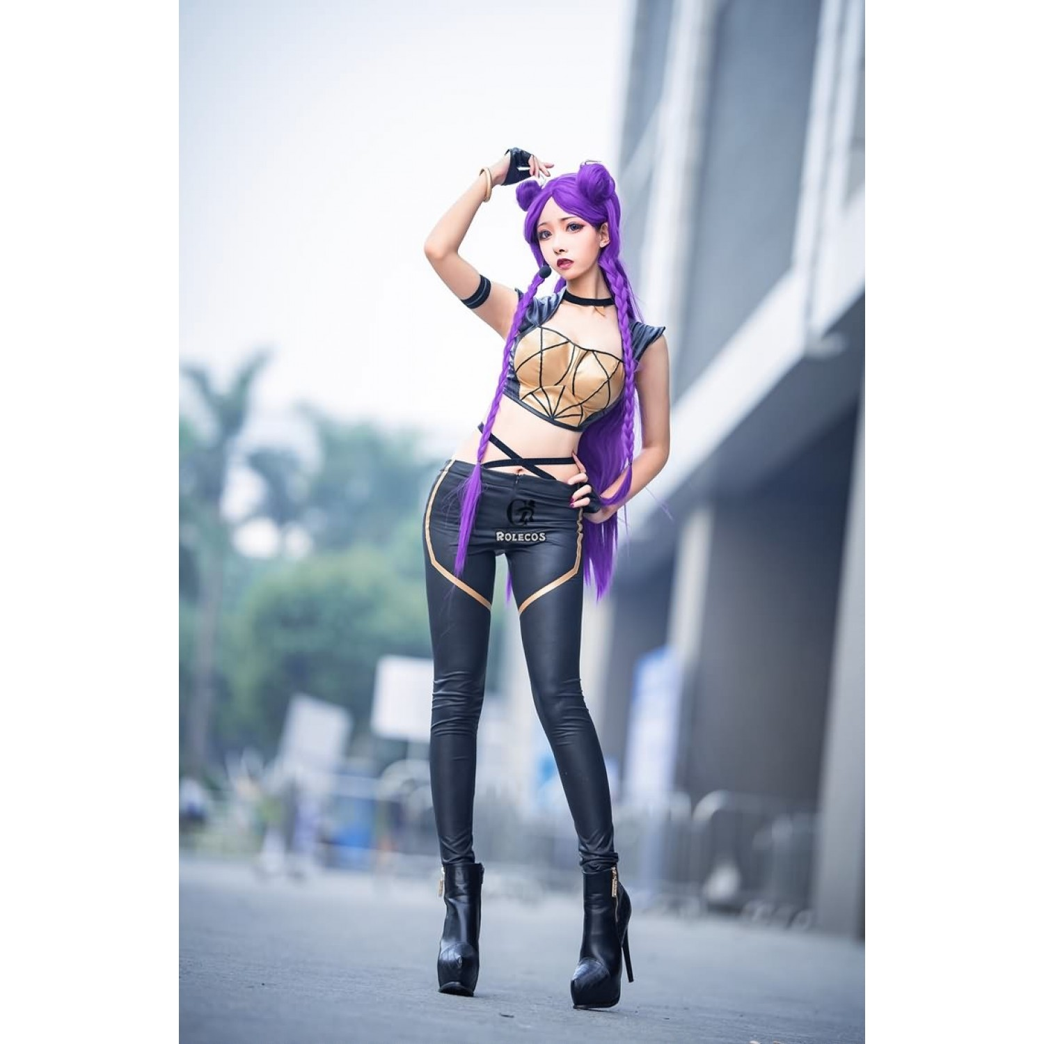 League of Legends LOL Kaisa Cosplay Costume