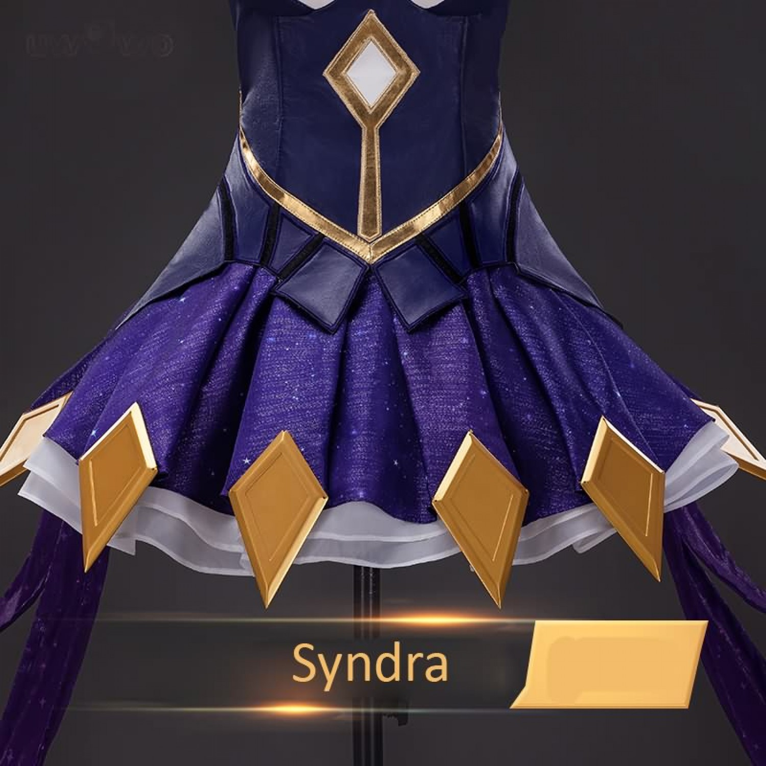 League of Legends LOL Star Guardian Syndra Game Women Cosplay Costume