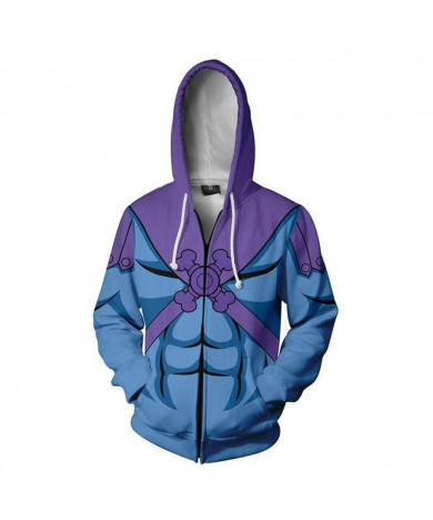 My Hero Academia Casual Hooded Zip up Hoodie 3D print Long Sleeve Jacket
