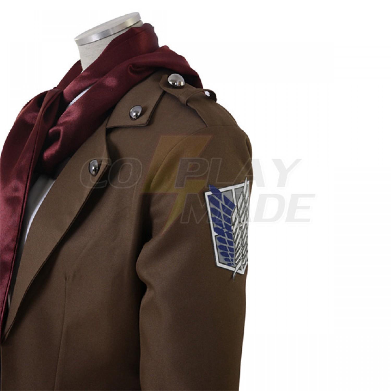 Attack on Titan Survey Corps Mikasa Ackerman Full Set Cosplay Costume