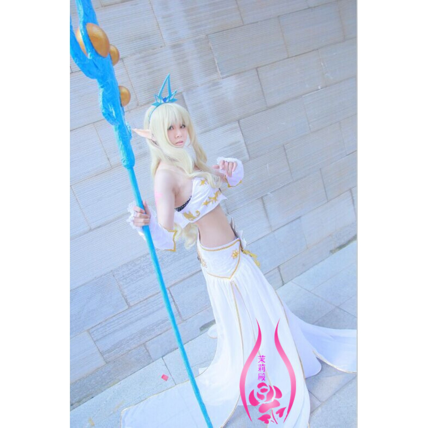 league of legends Janna The Storm's Fury LOL Cosplay Costumes