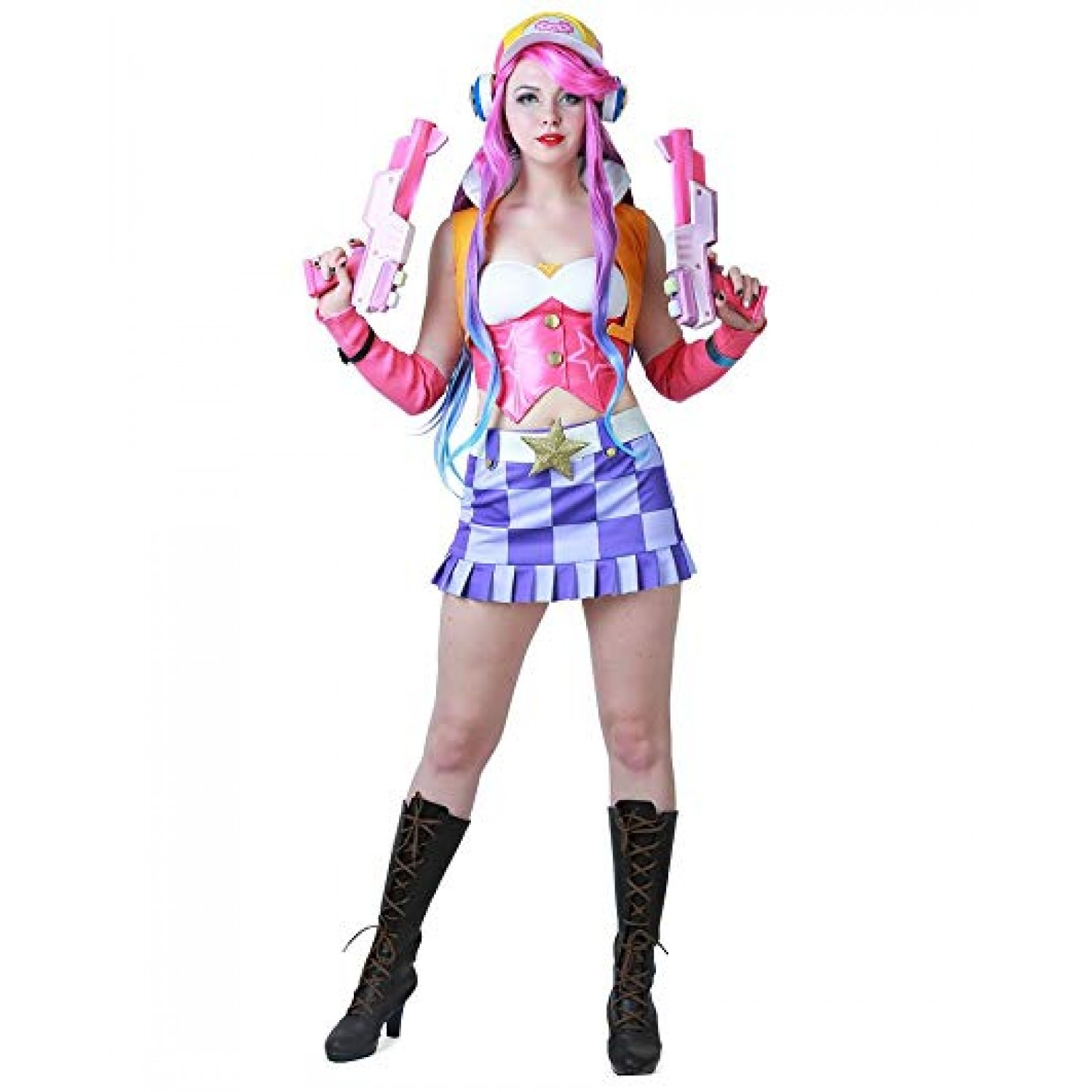 League of Legends LOL Arcade Miss Fortune Cosplay Costume