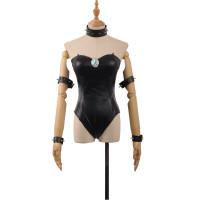 Bowsette Princess Bowser Black Bodysuit Super Mario Bros Cosplay Costume