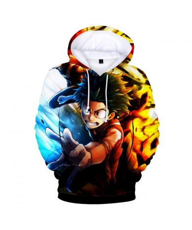 My Hero Academia Midoriya Izuku 3d Print Hoodies Jacket Long Sleeve