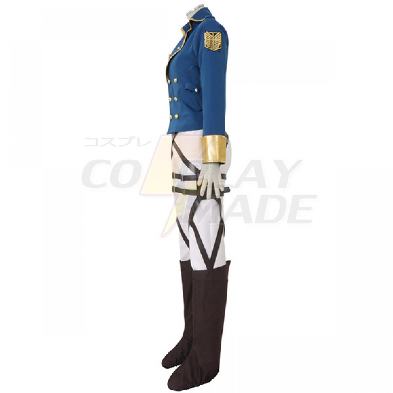 Attack on Titan Eren Jaeger Survey Corps Cosplay Costume