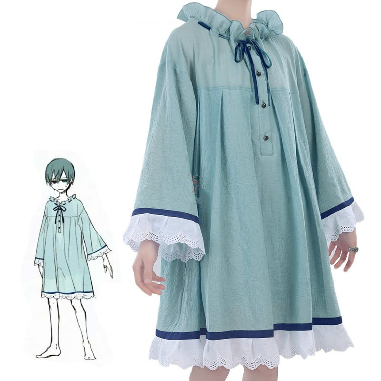 Black Butler Ciel Phantomhive nightdress Pajamas Cosplay Costume