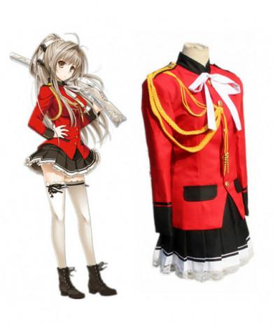 Amagi Brilliant Park Sento Isuzu Uniform Cosplay Costume