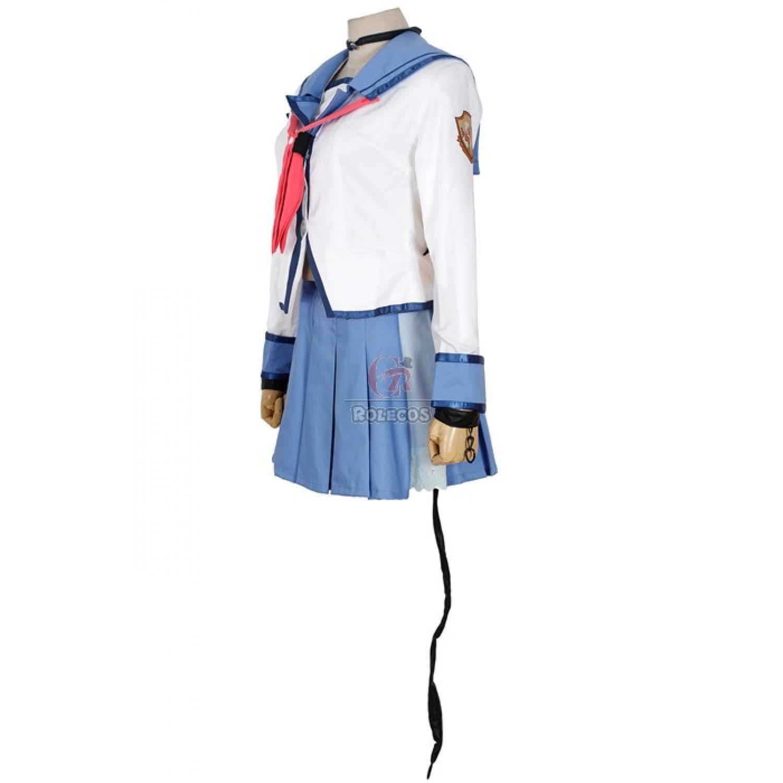Angel Beats Yui Sailor Suit Uniform Cosplay Costume