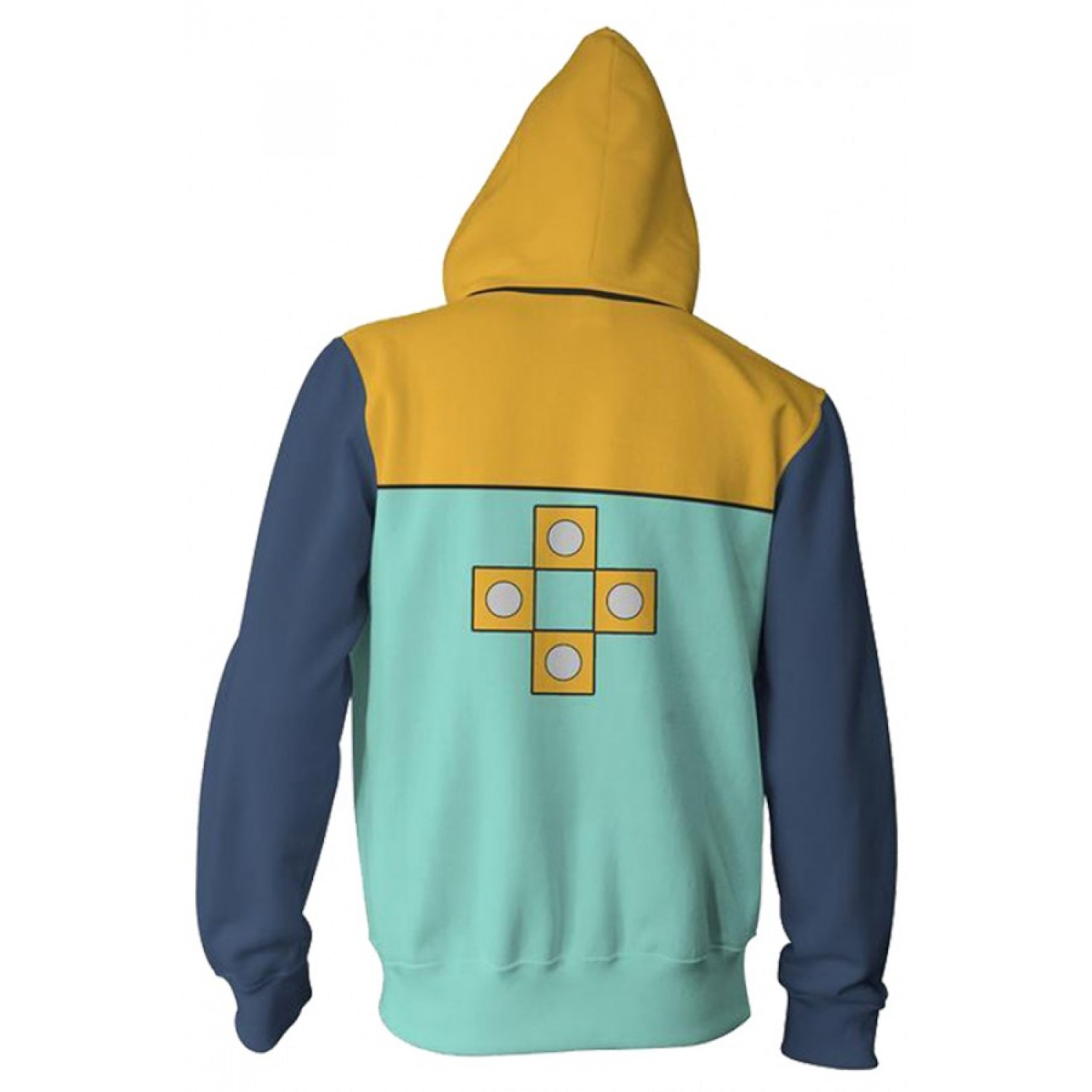 The Seven Deadly Sins Hoodies - King Zip Up Hoodie Jacket 3D Print Sweatshirt