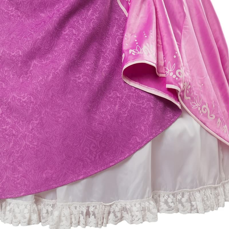 Disney Tangled Rapunzel Princess Rapunzel Long Dress Cosplay Costume