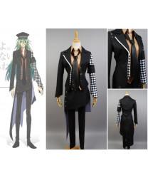 Amnesia Ukyo Black Jacket Full Full Sets Cosplay Costume
