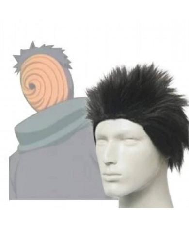 Naruto Tobi Black Short Full styled Cosplay Wig