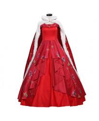 Elena of Avalor Princess Dress With Cloak Cosplay Costume