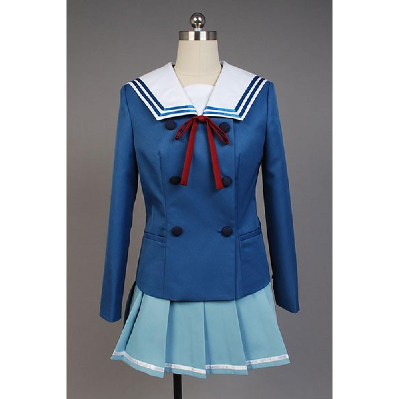 Beyond The Boundary Mitsuki Nase School Uniform Cosplay Costume