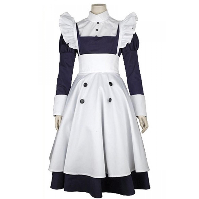 Black Butler Kuroshitsuji Maylene Maid Outfit Cosplay Costume