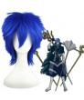 Vocaloid Blue Heat Resistant Fiber Cosplay Wig