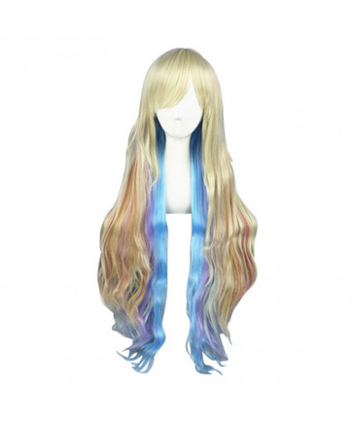 Vocaloid MAYU Long Curly Synthetic Hair Cosplay Wig