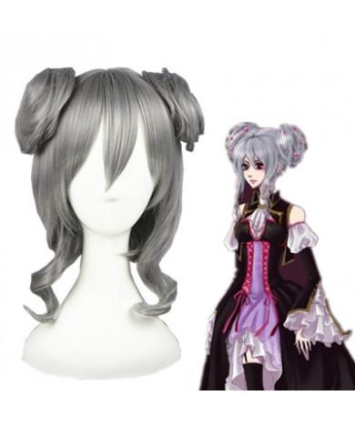 Vocaloid Haku Short Silver Synthetic Hair Cosplay Wig