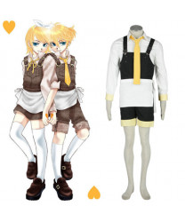 Cosplay Costume for Vocaloid Human Sacrifice Len Japan Anime Costumes