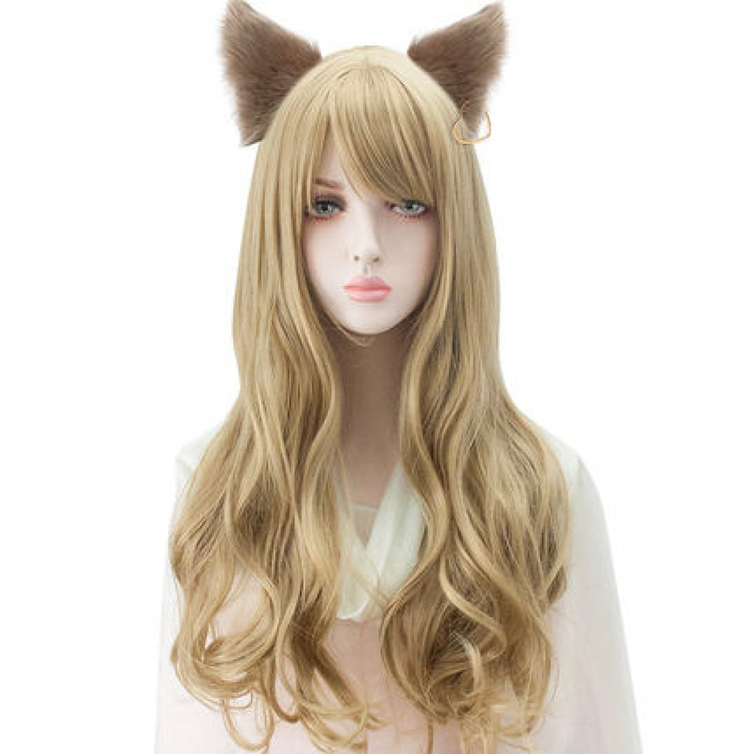 League of Legends LoL Ahri the Nine-Tailed Fox Cosplay Wig