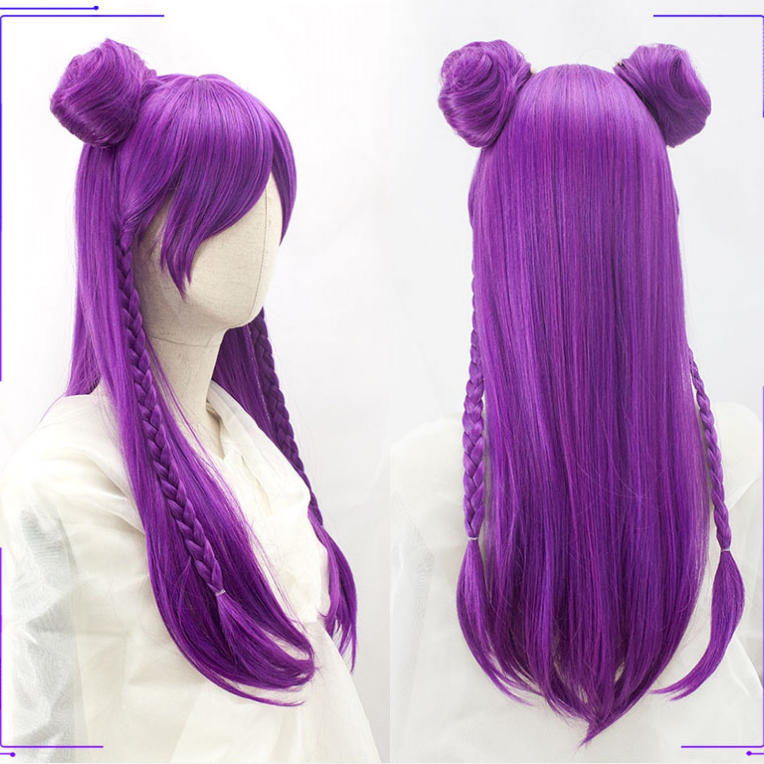 League of Legends LoL Kaisa Daughter of the Void Cosplay Wig