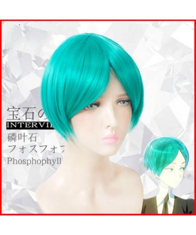Land of the Lustrous Phosphophyllite Light Blue Short Hair Cosplay Wig