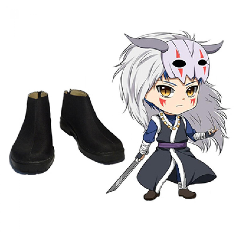 Yona of the Dawn Shin-Ah PU Cosplay Boots