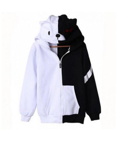 Danganronpa Monokuma Casual Sweatshirt Zip Hoodie Cosplay Costume