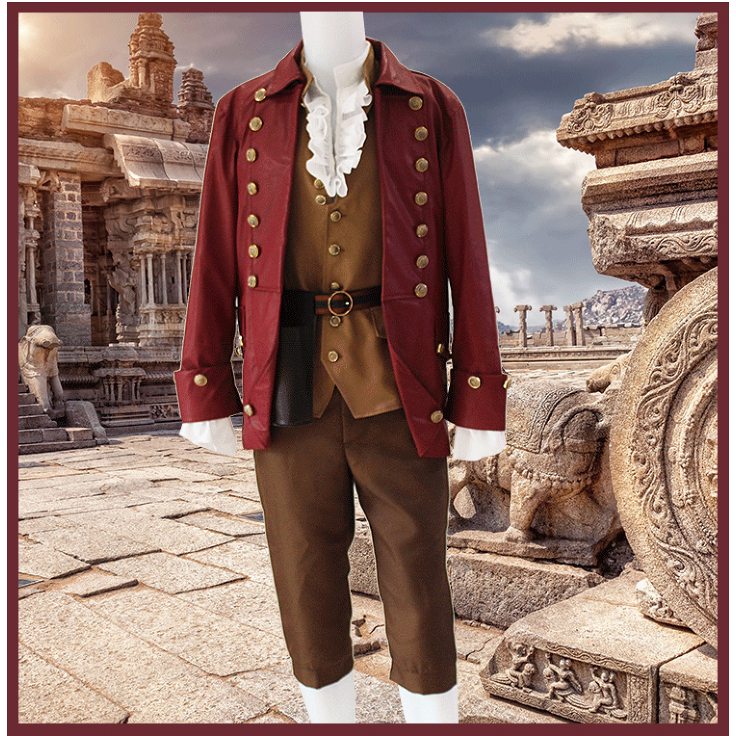 Beauty and the Beast Gaston Cosplay Customes