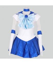 Sailor Moon Ami Mizuno Anime Dress Cosplay Customes