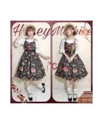 Sweet Lolita JSK Dress Original Vintage Rose Valley Party Dress