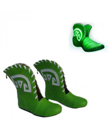 Warcraft III The Frozen Throne DotA Tranquil Cosplay Shoes