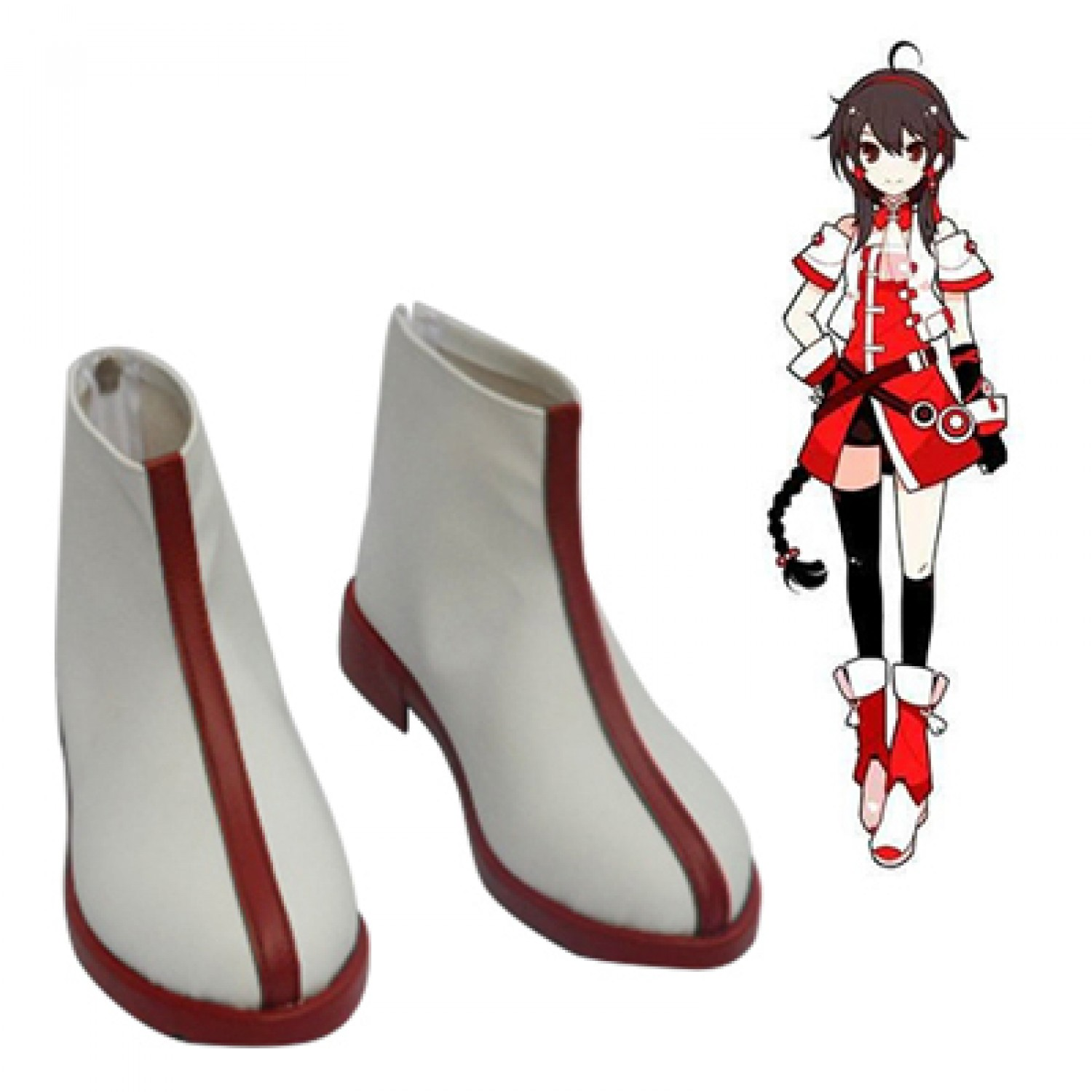 Vocaloid China Yuezheng Ling Cosplay Shoes Cosplay Boots